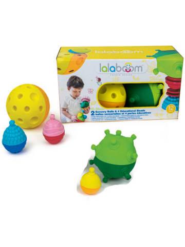Lalaboom Sensorik-Bälle & Entdecker-Perlen, 12-t