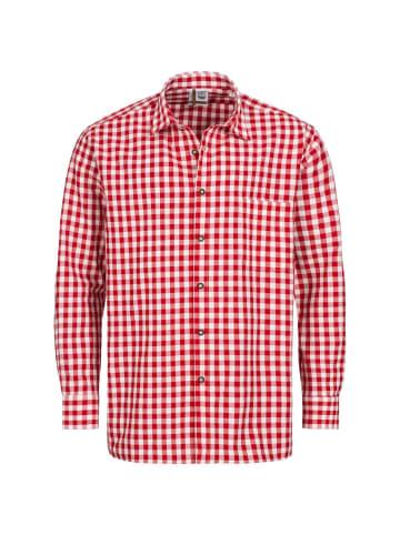 AS Hemden Trachtenhemd in Rot