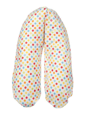 "Joyfill Still-/Lagerungskissen Vita Talalay Latexflocken""Dots bunt"" in Bunt-XL,M,S,S/M"