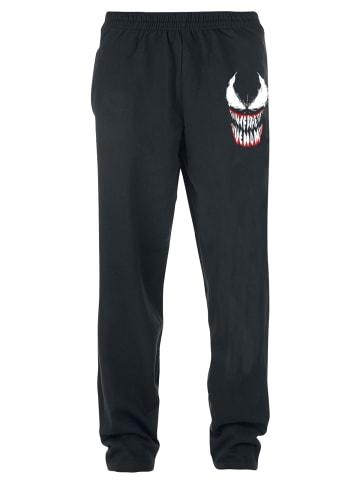Marvel Jogginghose Venom Face in schwarz