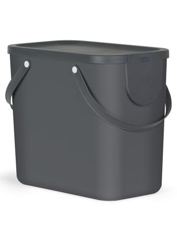 Rotho Albula Mülltrennungssystem 25l in anthrazit