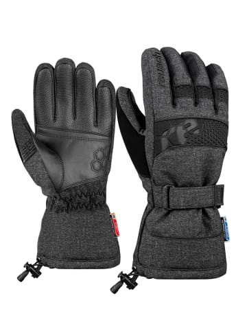 Reusch Fingerhandschuh Connor R-TEX® XT in black / black melange