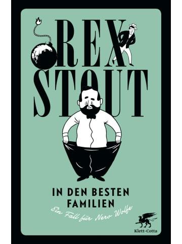 Klett-Cotta In den besten Familien | Ein Fall für Nero Wolfe. Kriminalroman
