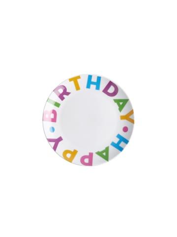 Butlers Teller Ø 20,3 cm HAPPY BIRTHDAY in bunt