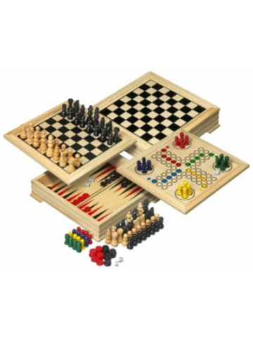 Philos Spielesammlung Holz Mini