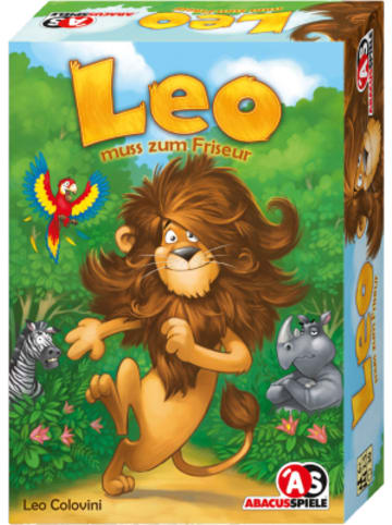 Abacusspiele Leo muss zum Friseur