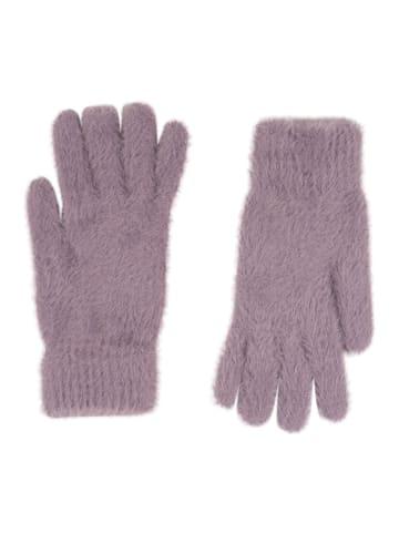 Six Handschuhe in lila