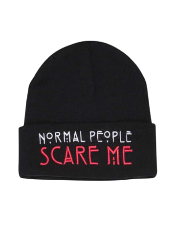 American Horror Story Mütze American Horror Story Normal People Scare Me Beanie in schwarz