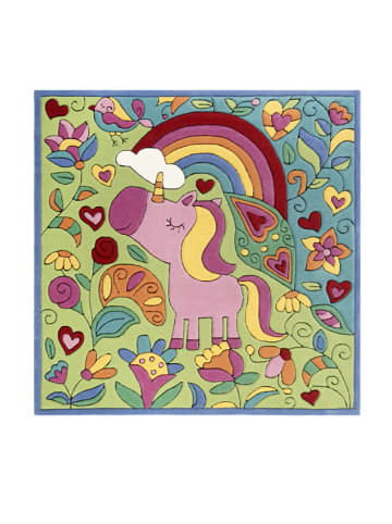 Wecon Home Teppich Lovely Unicorn in multicolor