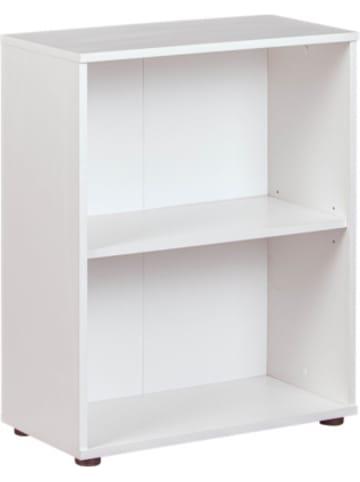 Inter Link Bücherregal Arco, 2 Fächer, weiß lackiert