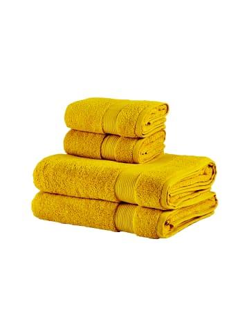 BELLA MAISON Handtuch Basic in gelb