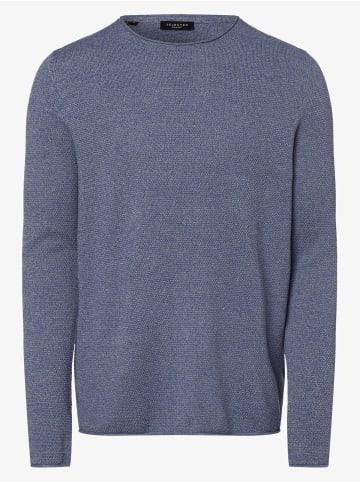 Selected Pullover in blau
