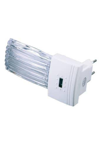 Niermann STAND BY LED Nachtlicht Riffel, mit Dämmerungsautomatik