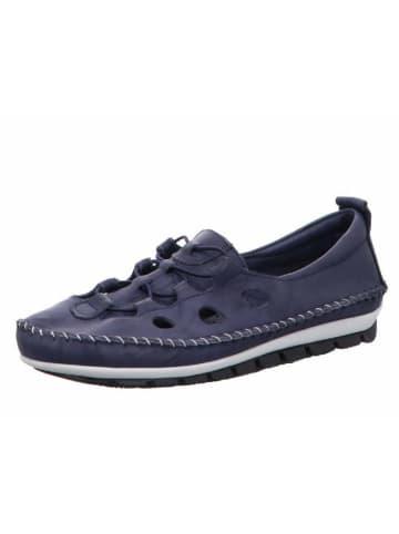 Gemini Slipper in blau
