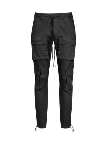 2Y Cargohose ELIAS in schwarz