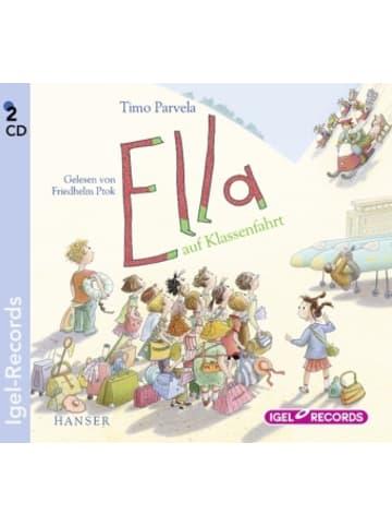 Igel Records Ella 3. Ella auf Klassenfahrt, 2 Audio-CD