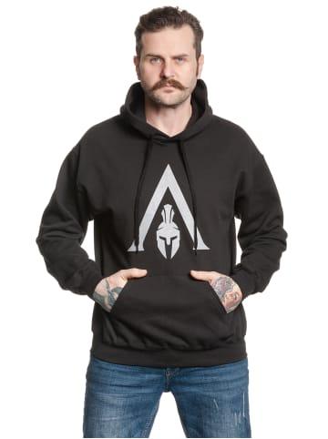 Ubisoft Kapuzensweatshirt Assassins Creed Spartan in schwarz