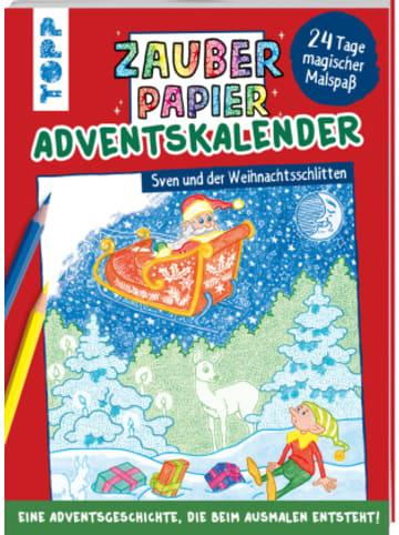 Frech Zauberpapier Adventskalender - Sven und der Weihnachtsschlitten
