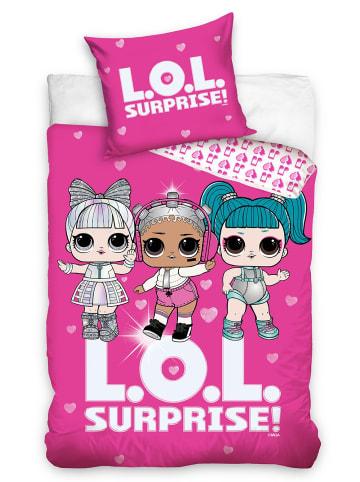 "L.O.L. Surprise Mädchen Bettwäsche-Set ""LOL Surprise"" in Pink"