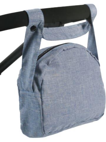 Chic 2000 Wickeltasche für Puppen, Jeans blau