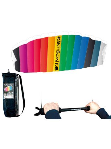 Rhombus Lenkdrachen Rainbow 1.6 in Regenbogen