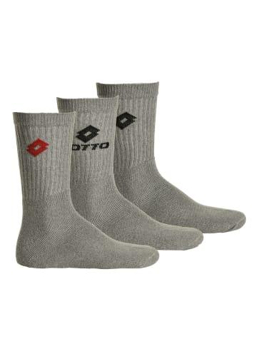 Lotto Socken 3er Pack in Grau