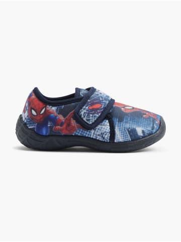 Spiderman Hausschuh blau