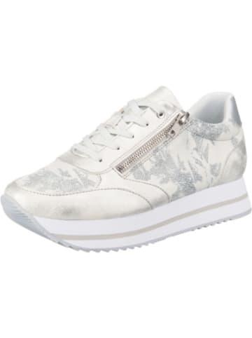Lynfield Plateau Shiny Zip Sneaker
