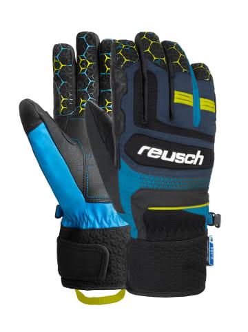 Reusch Fingerhandschuhe Stuart R-TEX® XT in blck/dress blu/saf yellow