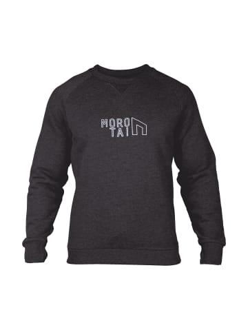 MOROTAI Pullover Performance Sweatshirt in Dunkelgrau