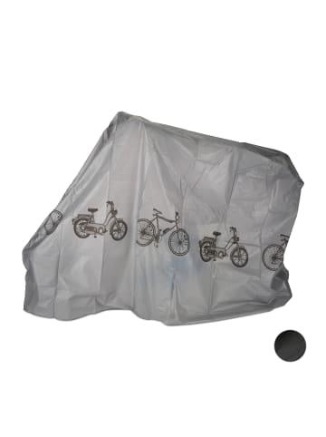 Relaxdays 1x Fahrradgarage in Grau