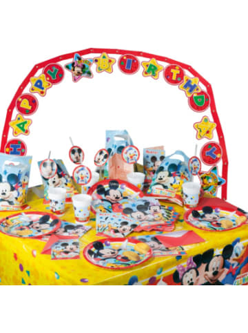 Procos Partyset Playful Mickey Mouse, 56-tlg.