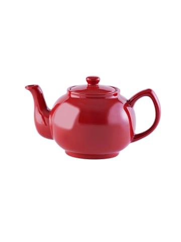 Price&Kensington Teekanne glänzend in rot - 6 Tassen
