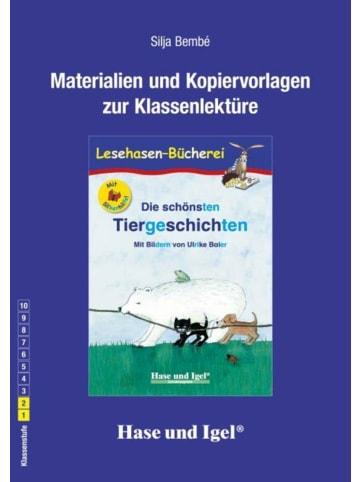 Hase und Igel Tiergeschichten / Silbenhilfe. Begleitmaterial