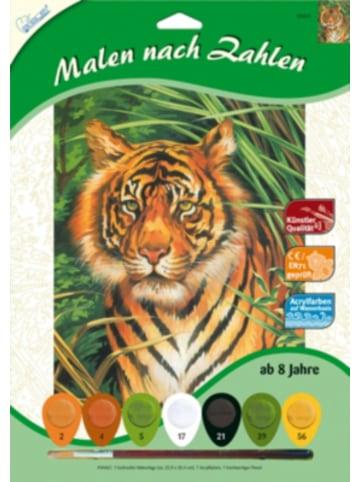 MAMMUT Spiel und Geschenk Malen nach Zahlen - Tiger