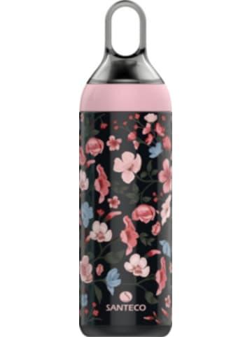 SANTECO Edelstahl-Trinkflasche Ltd.Edition Yoga Serena, 0,5 l in Geschenkverpackung