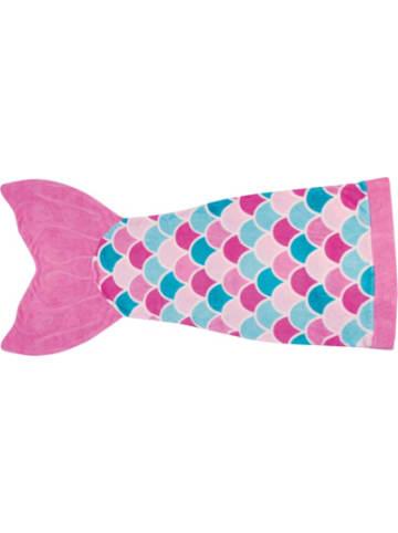 Fin Fun Cuddle Tails Meerjungfrauendecke, Pink Dream (pink), S