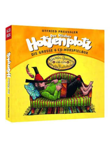 Universal Music Der Räuber Hotzenplotz, 6 Audio-CDs