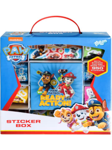 Totum PAW Patrol Stickerbox, 950 Sticker