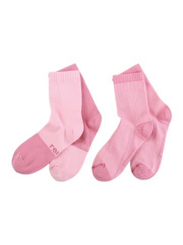 "Reima 2er Pack Socken "" My Day "" in Rose pink"