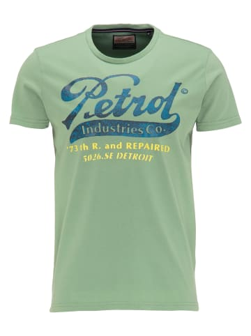 Petrol Industries T-Shirt in Light Pine