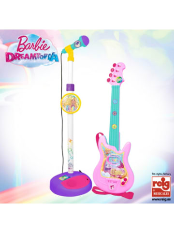 Barbie Gitarre mit Mikrofon