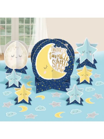 Amscan Tischdeko Twinkle Little Star 27-teilig