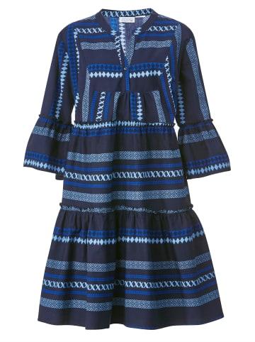 Angel of Style Kleid in Marineblau,Royalblau