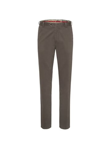 Meyer Flat-Front-Chino Oslo in hellbraun
