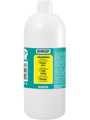 Stanger Bastelkleber transparent, 1.000 g Flasche