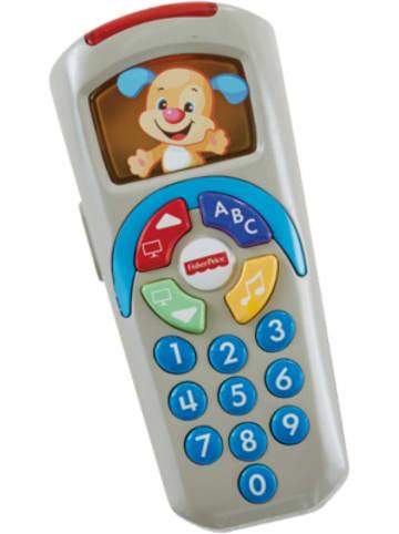 Mattel Fisher-Price Lernspaß Fernbedienung, Lernspielzeug Baby, Spielzeug Fernbedi...