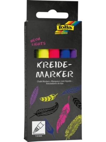Folia Kreidemarker Neon, 5er Set