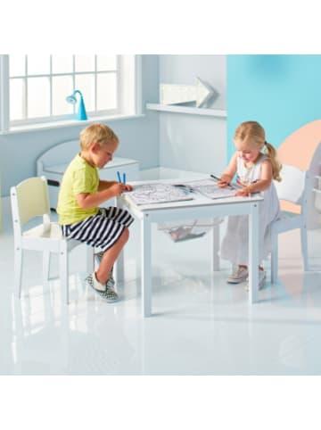Worldsapart Kindersitzgruppe de Luxe, 3-tlg., weiß lackiert