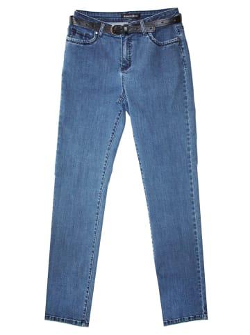 Womensbest Damen Lindau Straight Leg in stone blue denim